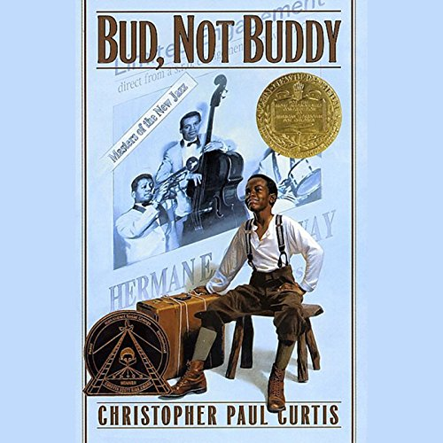 Bud, Not Buddy audiobook cover art