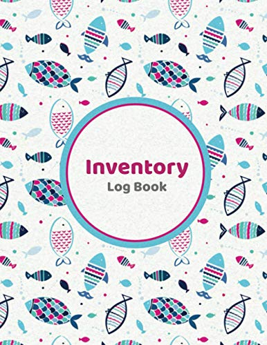 Inventory Log Book: Fish Pattern | Simple Inventory Log Book for Business...