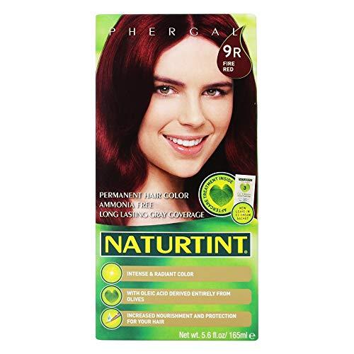 Naturtint - Permanent Natürliche Haarfarbe 155ml, 9R (Feuer Rot)