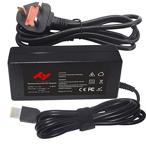 TAYINPLUS 20V 4.5A 90W Laptop charger for Lenovo ADLX90NCC3A ADLX90NDC3A ADLX90NLC3A Thinkpad T470 T460 T440 T440p T440s T540p Notebook AC Power Adapter