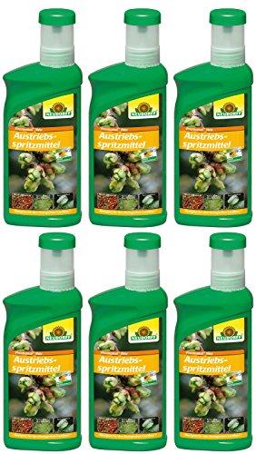 6 x 500 ml Neudorff Promanal Austriebsspritzmittel