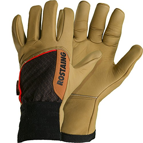 Rostaing cloture-it08 Handschuhe Pro Stacheldraht, beige/braun, 35,5 x 11,5 x 3,5 cm