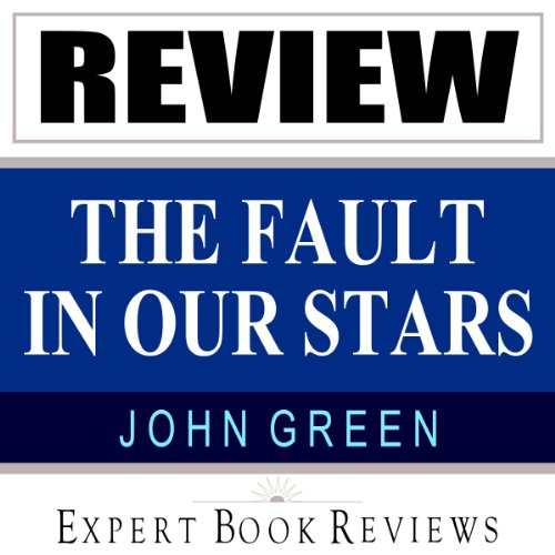 The Fault in Our Stars: by John Green audiobook cover art