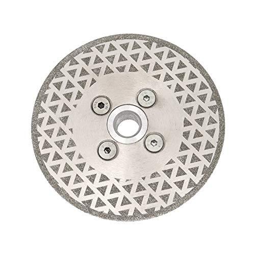 LHFSM Discos de Diamante de molienda, Corte de Diamante galvanizado y Disco de Pulido Ambos Lados para la baldosa cerámica de Granito de mármol