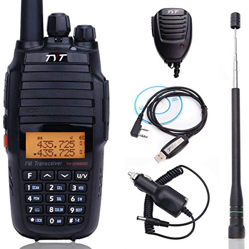 Upgrade Version TYT TH-UV8000D 10Watts High Power Cross Band Repeater 3600mAh VHF UHF Dual Band Amateur Two Way Radio