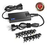 TAIFU 90W Universel AC Laptop Chargeur Power Adaptateur pour HP Compaq Dell Acer ASUS Toshiba IBM Lenovo Samsung Sony Fujitsu Gateway Notebook Ultrabook HP Envy 15 17 TouchSmart Sleekbook M6 M7