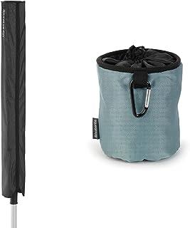 Brabantia 420405 Housse de Protection pour Séchoir de Jardins, modèle aléatoire & 105784 Premium Sac pour Pinces à Linge N...