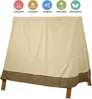 Generies A-Frame Swing Cover Waterproof Garden Hammock Swing Cover 71.6 x 66.9 x54.7 inches UV Resistant Weather Protector...