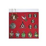 ZFLY-JJ 13 unids/Set Harry Potter Hermione Dumbledore Voldemort Varita mágica con Caja de Halloween Harri Potter Chico Hogwarts Varita mágica de Regalo (Color : 14pcs/1set)