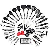 ♥Das Deluxe Kitchen Starter Set: NEXGADGET bietet eine breite und vielseitige Auswahl an Küchenhelfern zu wettbewerbsfähigen Preisen, die in jedes Zuhause passen. Dieses Werkzeug und Zubehörset ist das ultimative Set für all Ihre kulinarischen Bedürf...