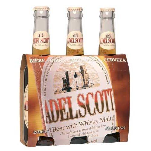 Birra Adelscott tris da 33cl x8pz (totale 24 pz)