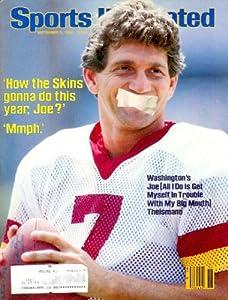Sports Illustrated - September 3, 1984 Issue: Joe Theismann Cover, Greg LeMond, John Henry, and More! (Volume 61 Number 1)