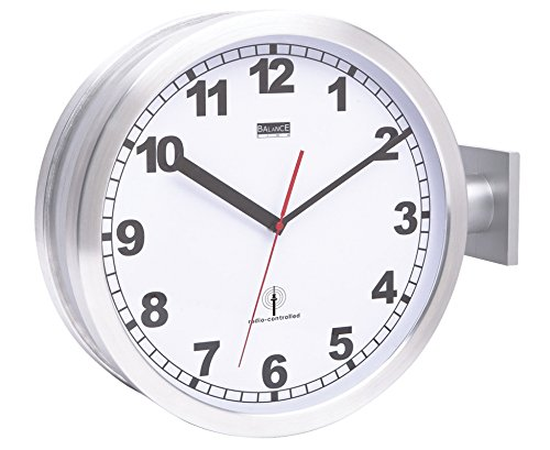 Balance Funkfernbedienung Double-Sided Wall Clock