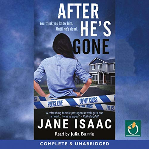 After He's Gone audiobook cover art