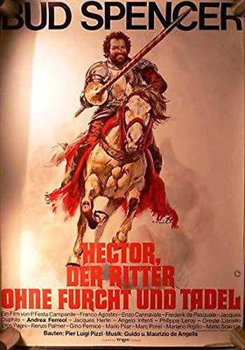 Hector, der Ritter ohne Furcht. Filmplakat A1 gerollt