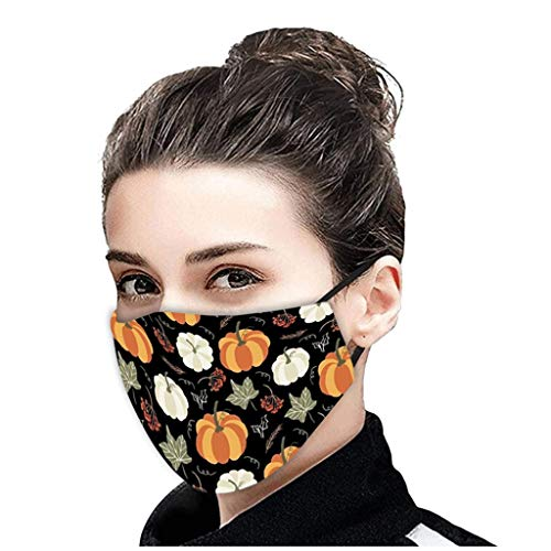 ZDG Halloween Day 1 PCS Adult Camouflage PM2.5 Breathable Mouth Mask Unisex Face Mask Reusable Printing Mask