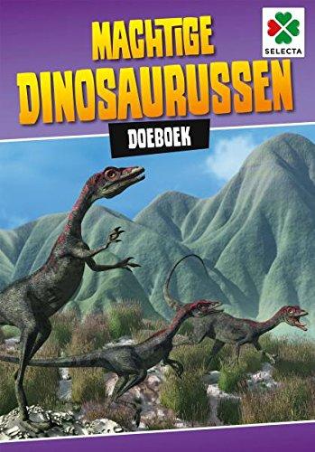 Selecta Spel en Hobby 54613 RooarGH De dino's komen aan Pagina's met kleurplaten en uitdagingen. Aantal pagina's: 48, paar