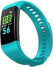 Slimme armbandHartslag Bloeddrukmeter Tracker Tracker Slimme polsband Waterdichte Smart Watch-stappenteller
