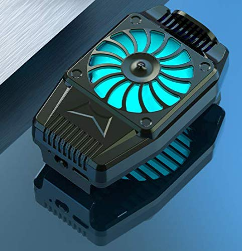 Maxjaa handy-usb aufladbare telefon radiator heatsink mute handy-handy-kühler kühlerlüfterhalterung mit