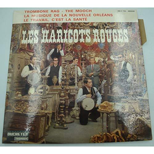 LES HARICOTS ROUGES trombone rag/the mooch/musique de la nouvelle Orléans EP 1965 Ducretet