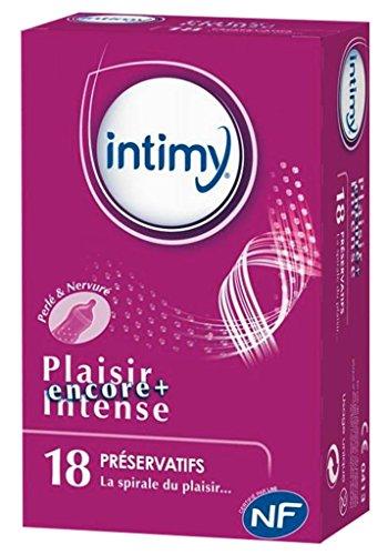 Preservativos intensos Intimy Pleasure Prã X18 (lote de 2) 1