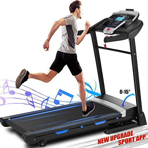 ANCHEER Treadmill For Heavy People Review