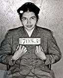 1955 Woman Activist Rosa Parks Mugshot - 17 Inch by 22 Inch Laminated Poster With Bright Colors And Vivid Imagery-Fits Perfectly In Many Attractive Frames