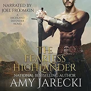 The Fearless Highlander audiobook cover art