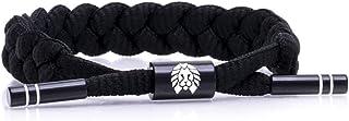 Rastaclat Men's Braided Bracelet, 100% Polyester - Medium/Large
