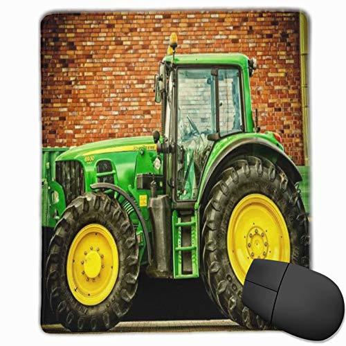 DAOPUDA Alfombrilla Raton Fondo de fotografía de Tractor de Fondo de Tema de Coche Alfombrilla Gaming Alfombrilla para computadora con Base de Goma Antideslizante,250×300×3mm