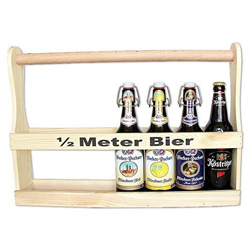 Bierträger 1/2 Meter Bier für coole Bier-Geschenke
