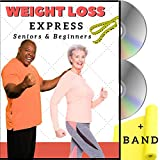 Weight Loss Exercise for Seniors and Beginners- 5 Fat Buring Workouts + Resistance Band. Easy to...