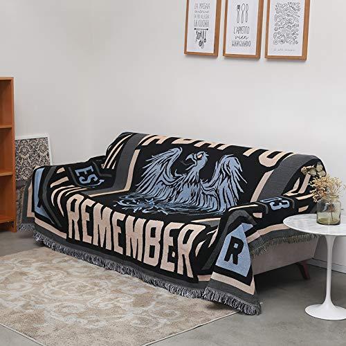 longchang Rock Sofa Handtuch pad B & B Stil persönlichkeit Decke Sofa Abdeckung Tuch bar Trend Tapisserie, 90 * 180 cm