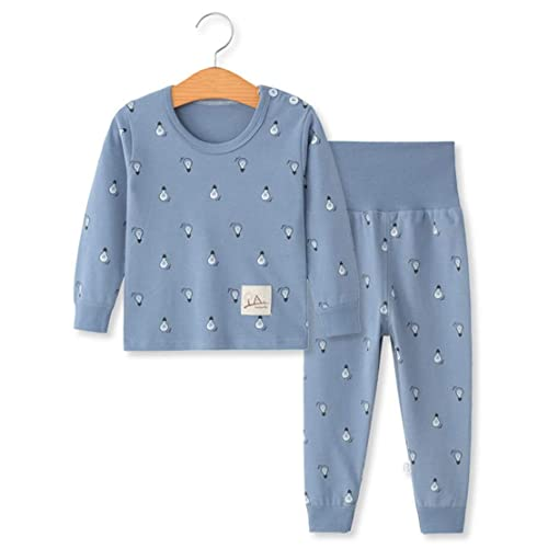 2b7bd061cd3f YANWANG 100% Cotton Baby Boys Girls Pajamas Set Long Sleeve  Sleepwear(6M-5Years