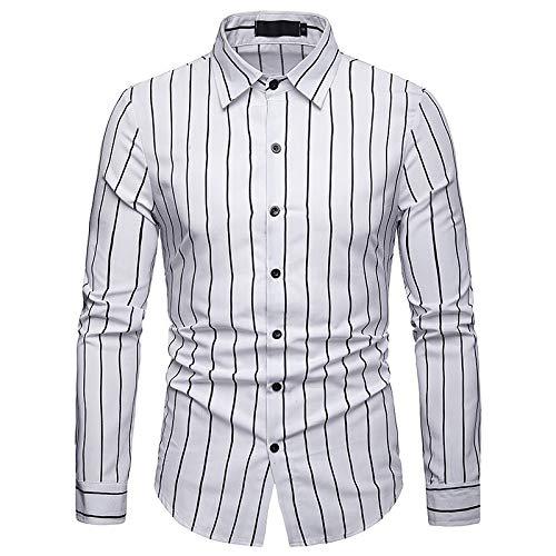 IYFBXl Mannen Zakelijk/Basic Shirt - Gestreept