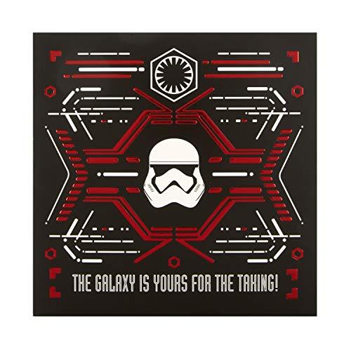 Hallmark Geburtstagskarte für jeden Anlass – Star Wars Dark Side Design