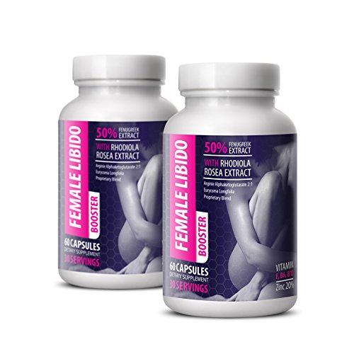 Women libido Booster - Female LIBIDO Booster - Women Sexual Support - Female Sex Enhancer Pills - 2 Bottles (120 Capsules)