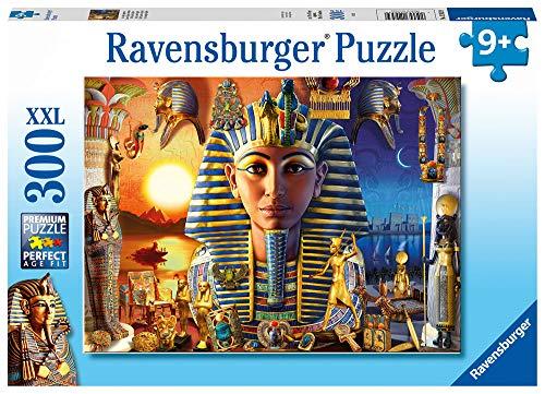 RAVENSBURGER PUZZLE- Im Alten Ägypten Ravensburger 12953-Puzzle Infantil (300 Piezas, tamaño XXL), diseño de Egipto, Multicolor (12953)