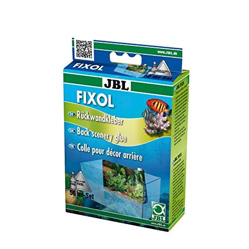 JBL Fixol 6121000, Kleber für Fotorückwände in Aquarien und Terrarien, 50 ml