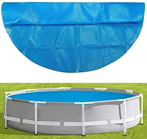 Surfilter 4ft Heizdecke mit Sonnenschutz, runder Poolabdeckung, UV-Schutz für Pool, wasserdichte Abdeckung für Solarpool mit Leinwand und Blase