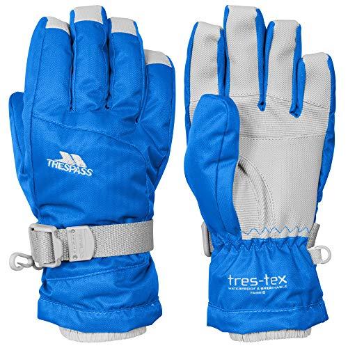 Trespass Kinder Handschuhe Simms, wasserfest (116-128) (Blau)