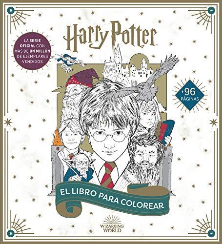 Harry Potter: El libro oficial para colorear (HARRY POTTER LIBROS PARA COLOREAR)