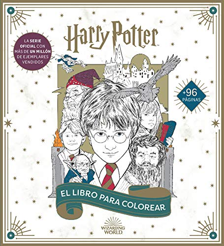 Harry Potter: El libro oficial para colorear (HARRY POTTER LIBROS PARA COLOREAR)