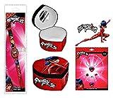 Générique Boite à Bijoux Ladybug Miraculous + Montre Ladybug Miraculous +Set a Bijoux Ladybug Miraculous