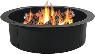 smokeless fire pit insert