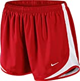 Nike Dri-Fit Tempo Womens Shorts (RED, Small)