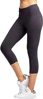 Premium Ultra Soft High Waisted Capri Leggings for Women - Regular and Plus Size - Many Colors