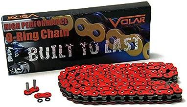 Volar O-Ring Chain - Red for 2010-2012 Triumph Bonneville 865 SE