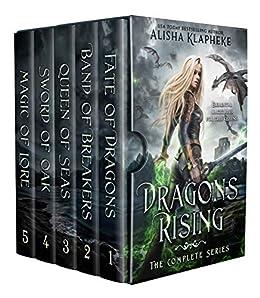 Dragons Rising: Complete Series (Alisha Klapheke Bundles) by [Alisha Klapheke]