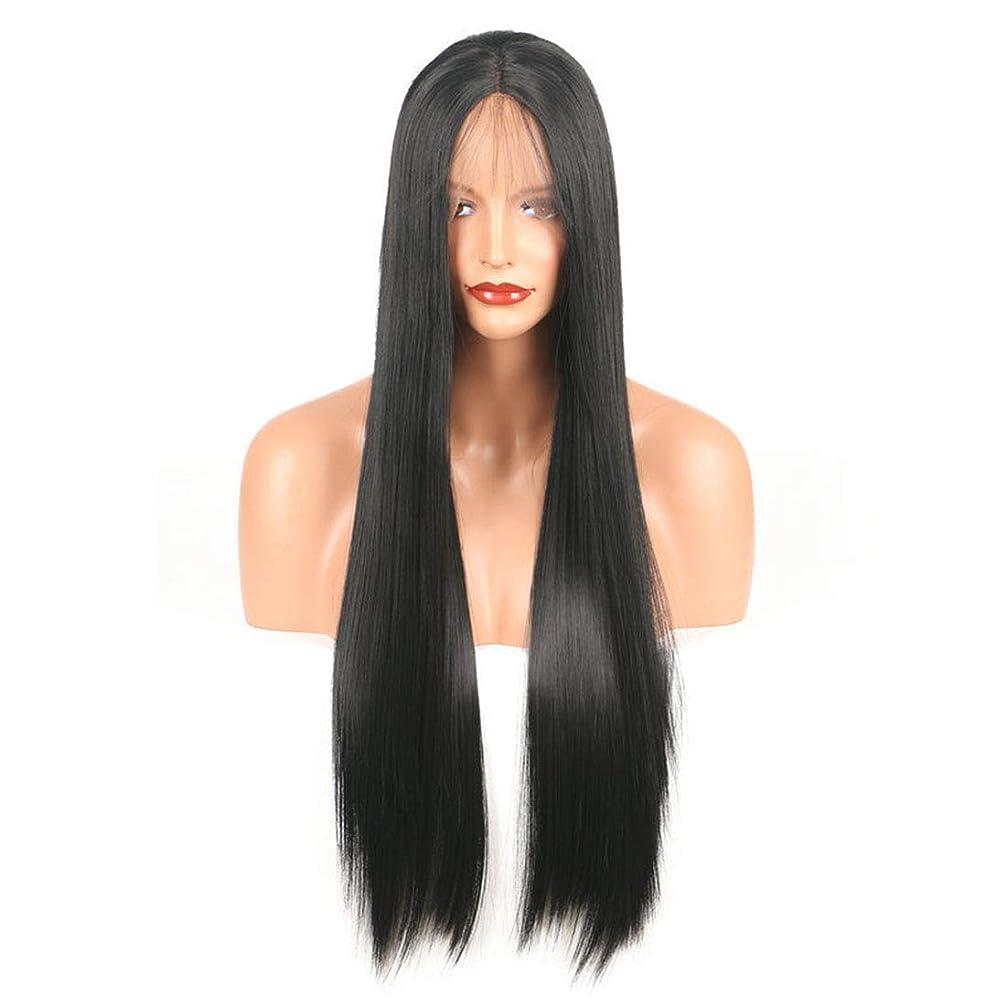 資本鎮痛剤応じるBOBIDYEE ヨーロッパの美容スタイル化学繊維フロントレースかつら合成髪レースかつらロールプレイングかつら (色 : Photo Color, サイズ : 18 inches)